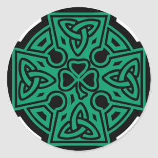 Celtic Cross II Sticker