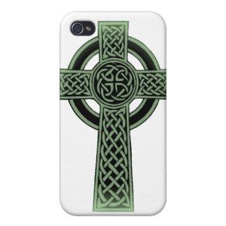 Celtic Cross iPhone 4/4S Cases
