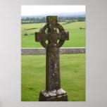Celtic Cross Ireland Print