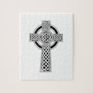 Celtic Cross Jigsaw Puzzle