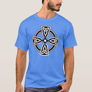 Celtic Cross Pattern Shirt