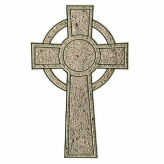 Celtic Cross Wall Hanging Standing Photo Sculpture