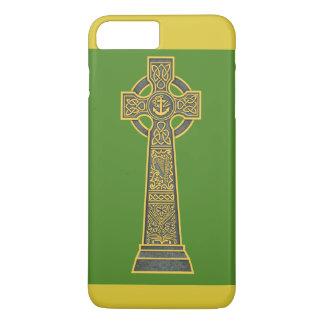 Celtic Cross with Harp iPhone 8 Plus/7 Plus Case