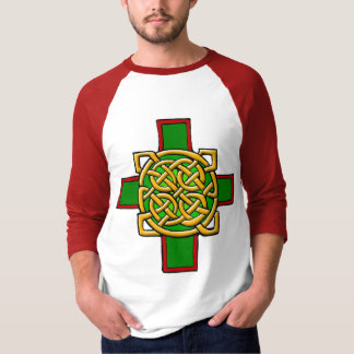 Celtic Cross with Intricate Knot Design Shirt