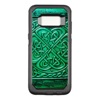 Celtic Design (1) Green 2 OtterBox Commuter Samsung Galaxy S8 Case