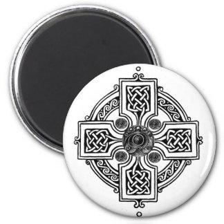 Celtic design 6 cm round magnet