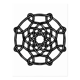 Celtic Design - Basic Round Knot Postcards