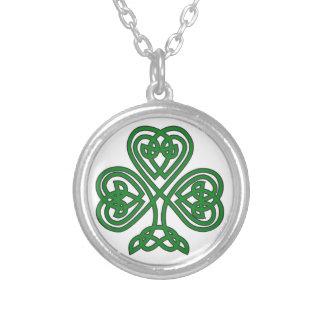 Celtic design Irish Shamrock for St. Patrick's day Jewelry