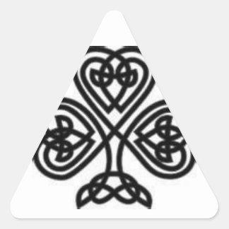 Celtic Design Triangle Sticker