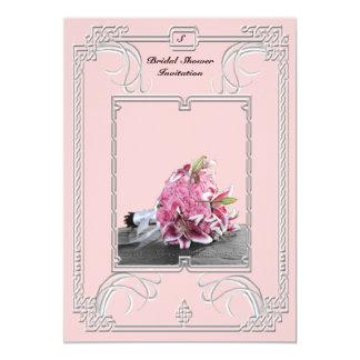 "Celtic Dimond Bridal Shower Invitation 5"" X 7"" Invitation Card"
