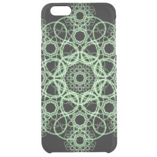 Celtic Disc Mandala Clear iPhone 6 Plus Case