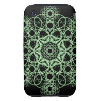 Celtic Disc Mandala Tough iPhone 3 Case