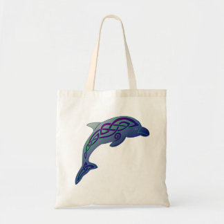 Celtic Dolphin Tote Bag