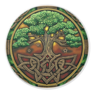 Celtic Door or Drawer Knob