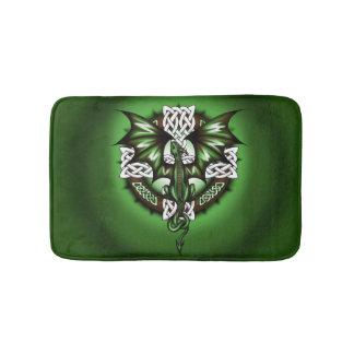 Celtic Dragon Bath Mat