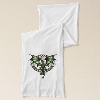 Celtic Dragon Scarf