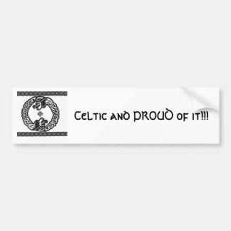 Celtic Dragons Bumper Sticker