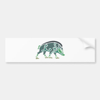 Celtic Eber celtic boar Bumper Sticker