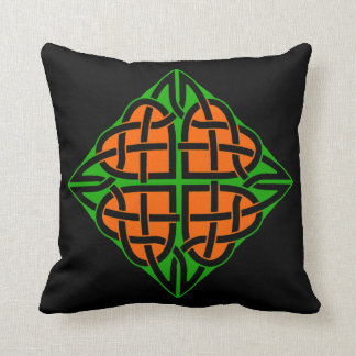 Celtic Eternal Heart Knot Irish Ireland Cushion