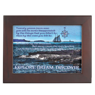 Celtic Explorer Keepsake Box