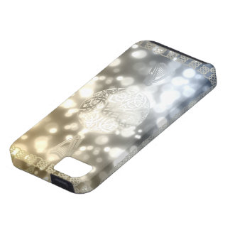 Celtic Gold and Silver Case For The iPhone 5