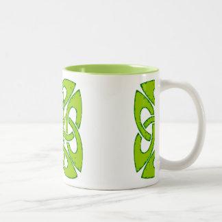 Celtic Green Knot Mug