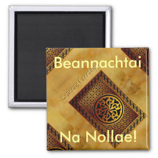Celtic Happy Christmas Magnet