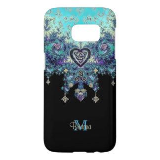 Celtic Heart Fractal Design Galaxy 7 Case