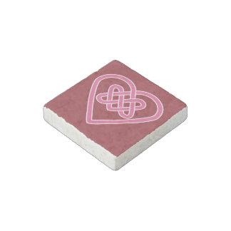 Celtic Heart Stone Magnet