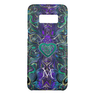 Celtic Heart Pastel Mandala Monogram Case-Mate Samsung Galaxy S8 Case