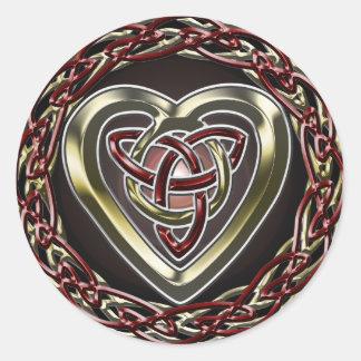 Celtic Heart Sticker