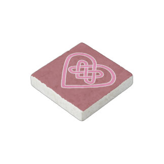 Celtic Heart Stone Magnet