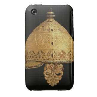 Celtic helmet found at Agris, Charante, 4th centur iPhone 3 Cover