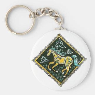 Celtic Horse Key Ring
