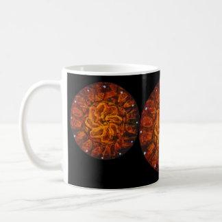 Celtic hot flower - Abstract Mug