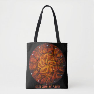 Celtic hot flower - Abstract Totebag Tote Bag