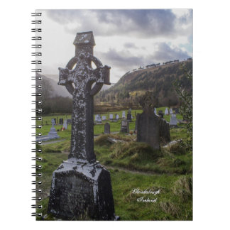 Celtic Idyll Spiral Notebook