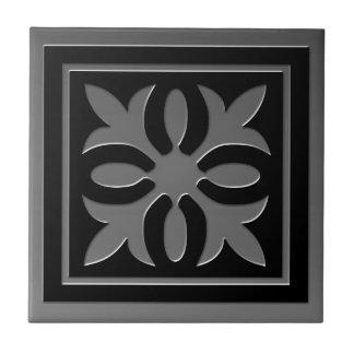 Celtic Inspired Tile # 2 gray Stainless Steel look