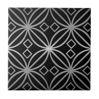 Celtic Inspired Tile abstract Stainless Steel look