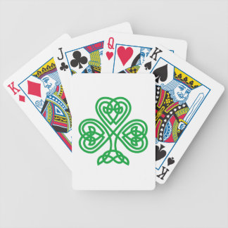Celtic Ireland Bicycle Playing Cards