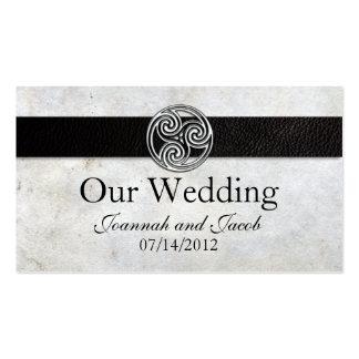 Celtic Irish Knot Wedding Website Card Pack Of Standard Business Cards