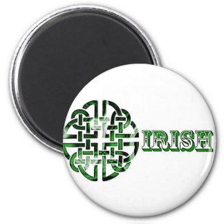 Celtic Irish Magnet! 6 Cm Round Magnet