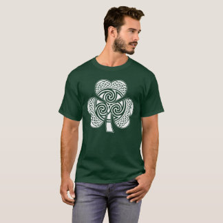 Celtic Irish Shamrock Lucky Design Ireland Eire T-Shirt