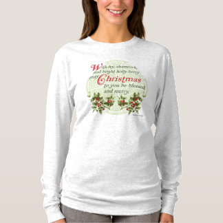 Celtic Ivy Holly Christmas T-Shirt