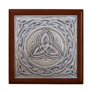 Celtic Jewellery Box Large Square Gift Box