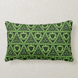 Celtic Kelly Green Lumbar Cushion