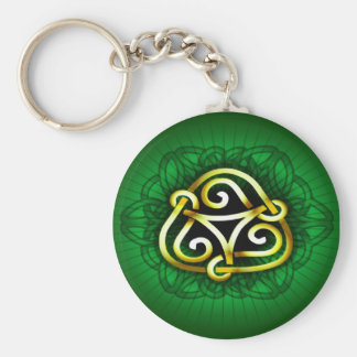 Celtic key chain