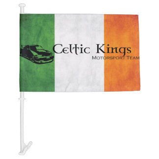Celtic Kings Car Flag