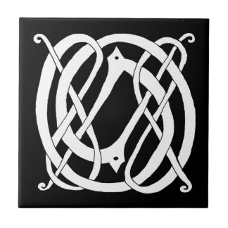 Celtic Knot Animal Small Square Tile