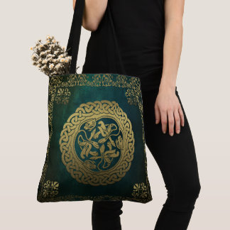Celtic Knot Animals Tote Bag